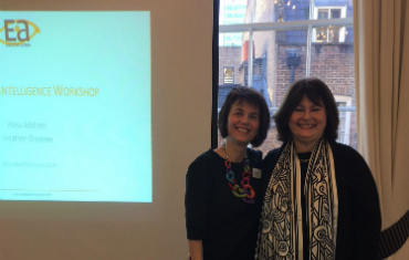 Emotional Intelligence workshop taster - Heather Greatrex and Alina Addison