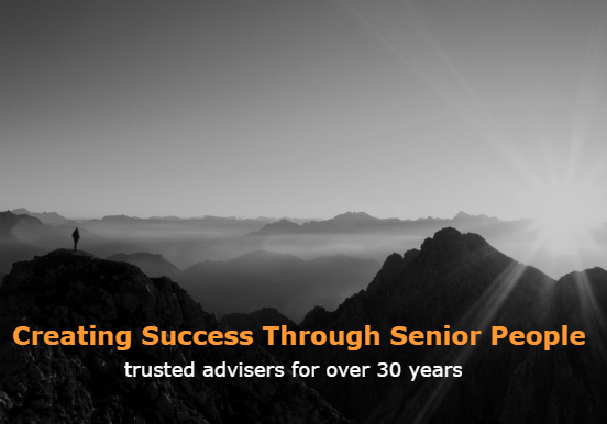 Mountain peak - Creating Success Through Senior People