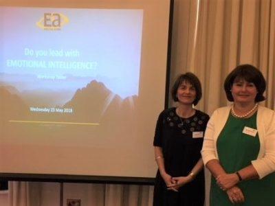 EQ workshop taster - Heather Greatrex and Alina Addison